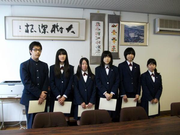 岡崎北高等学校制服画像